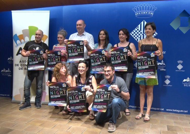 Balaguer celebrarà l'Open Night el proper 7 de juliol