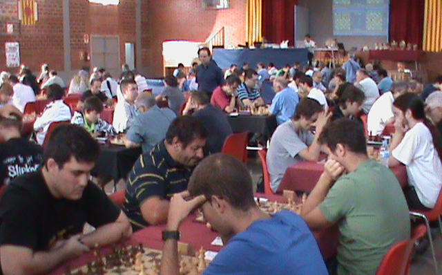 Aquest cap de setmana Vallfogona acull la 20a edició de l'Open d'Escacs