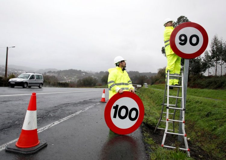 El nou límit de velocitat de 90 quilòmetres per hora a carreteres convencionals entra en vigor
