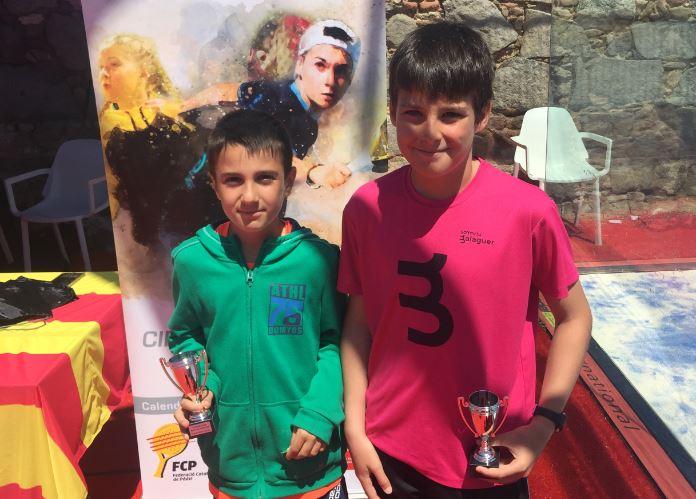 El balaguerí Iker Castillo i Gerard Navas, campions del III Gran Slam de Menors