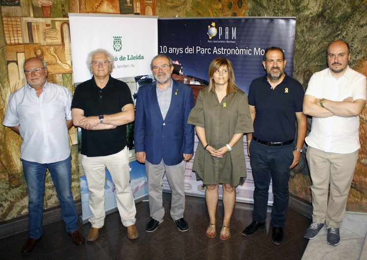 El Parc Astronòmic del Montsec celebrarà els seus deu anys d'activitat en una doble jornada