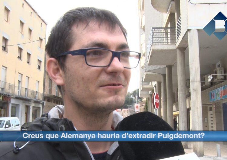 Balaguer Opina: Creus que Alemanya ha d'extradir Puigdemont?