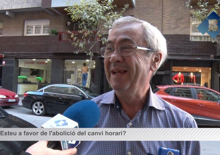 Balaguer Opina: Esteu a favor d'abolir el canvi d'hora?