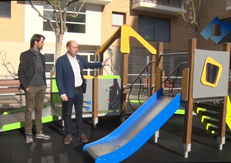 Balaguer estrena un parc inclusiu a la plaça Lluís Companys