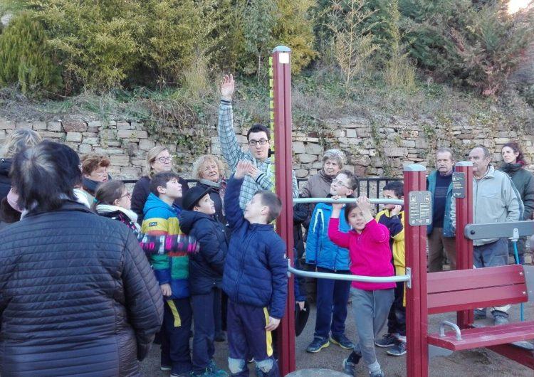 Cubells estrena el Parc de Salut