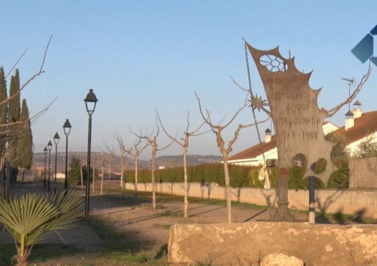 Bellcaire d'Urgell arranjarà el parc Antoni Gaudí