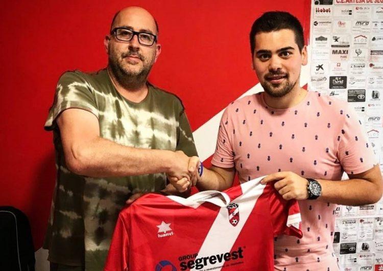 El balaguerí Pau Prior, nou entrenador del primer equip del C.E Artesa de Segre