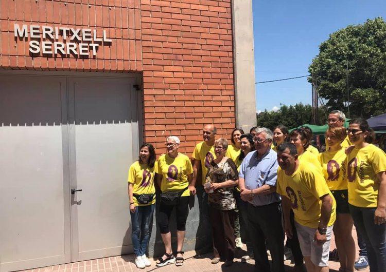 Vallfogona de Balaguer inaugura el nom del pavelló poliesportiu Meritxell Serret