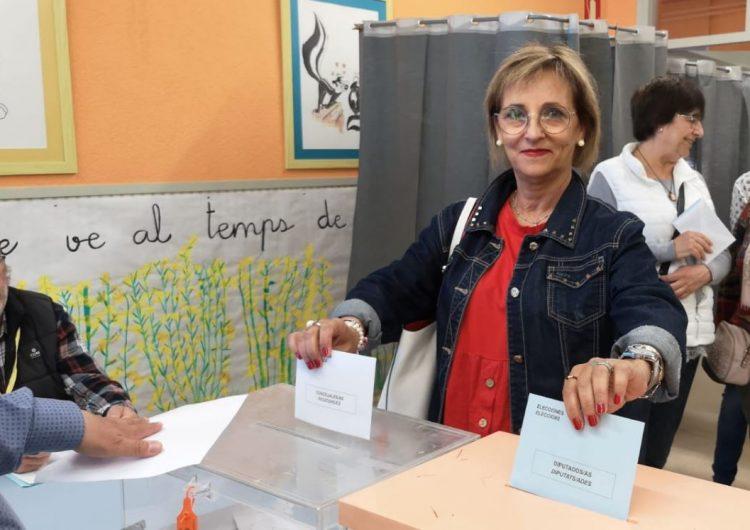 """Pepi Martínez (Ciutadans): """"Espero que la gent es decideixi a sortir a votar perquè és molt necessari"""""""