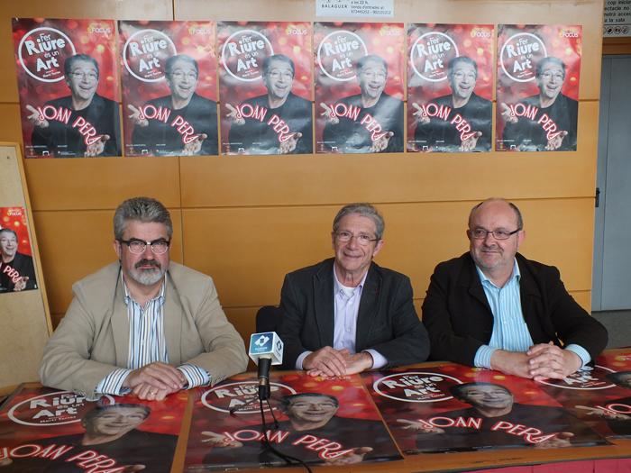 Joan Pera fa balanç dels 50 anys damunt dels escenaris a Balaguer