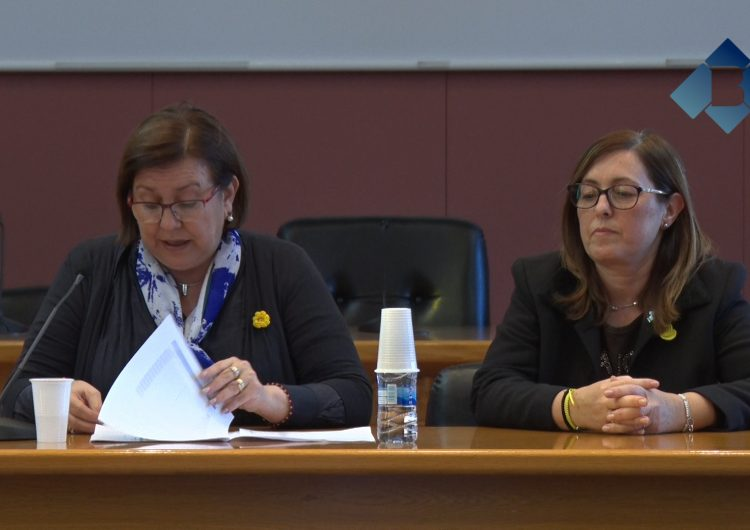 La presidenta de la Diputació de Lleida, Rosa Maria Perelló, es reuneix amb alcaldes de la comarca de la Noguera