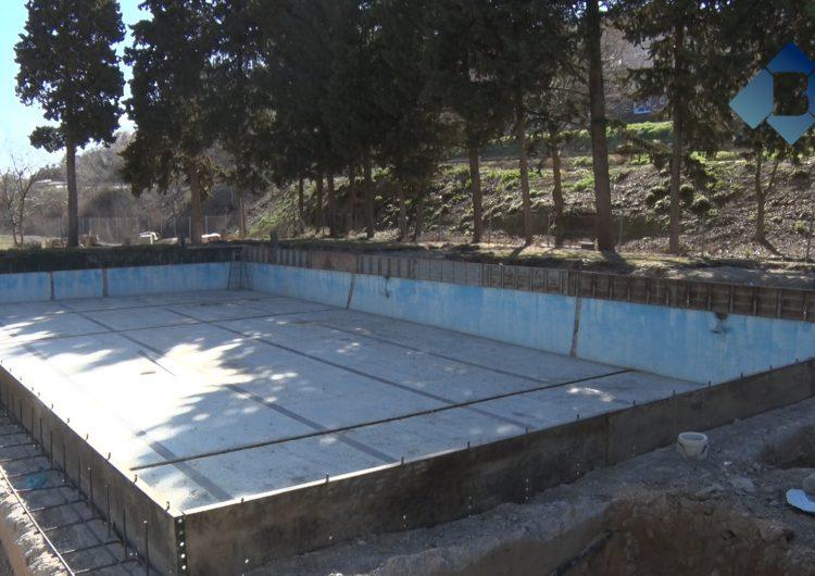Comencen les obres de millora de la piscina de La Sentiu de Sió
