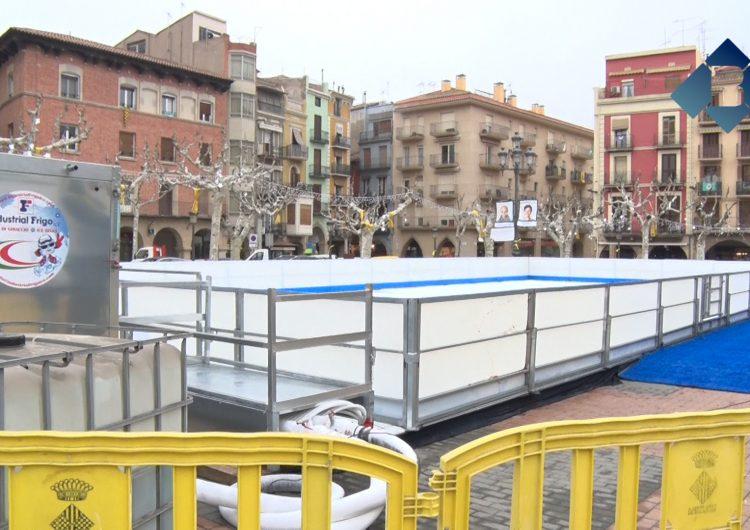 Balaguer posarà en marxa la pista de gel el proper 11 de desembre