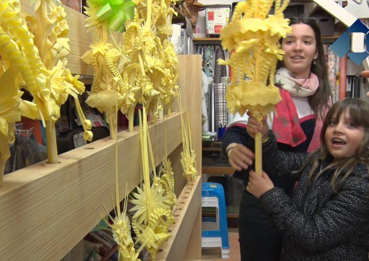 Palmes i palmons, protagonistes de la setmana en molts establiments catalans