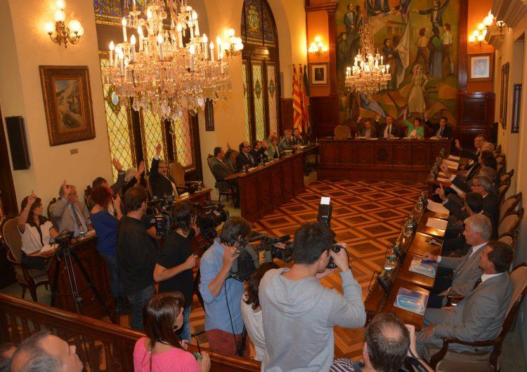 La Diputació de Lleida, la primera a donar suport a la consulta del 9N