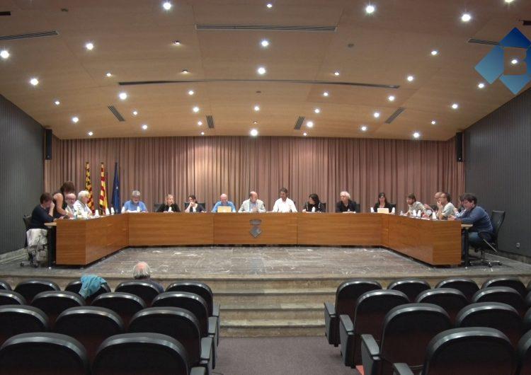 El ple de Balaguer condemna la violència de l'1-O