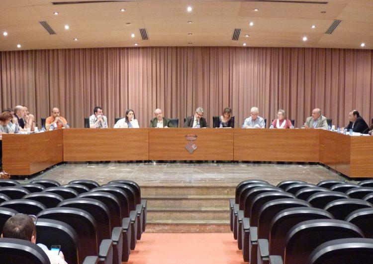 El Ple de l'ajuntament de Balaguer aprova una moció de suport a la declaració de sobirania del Parlament