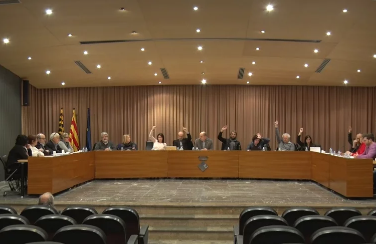 El Ple de Balaguer no aprova delegar competències al Consell Comarcal en gestió de residus