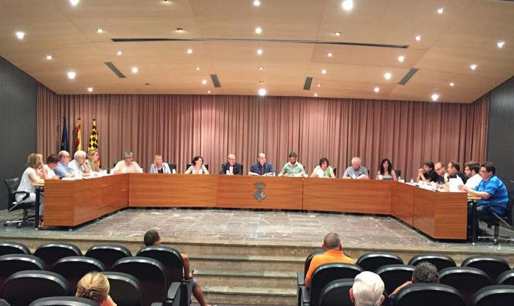 Els grups de l'oposició a l'ajuntament de Balaguer presenten una al·legació conjunta al pressupost