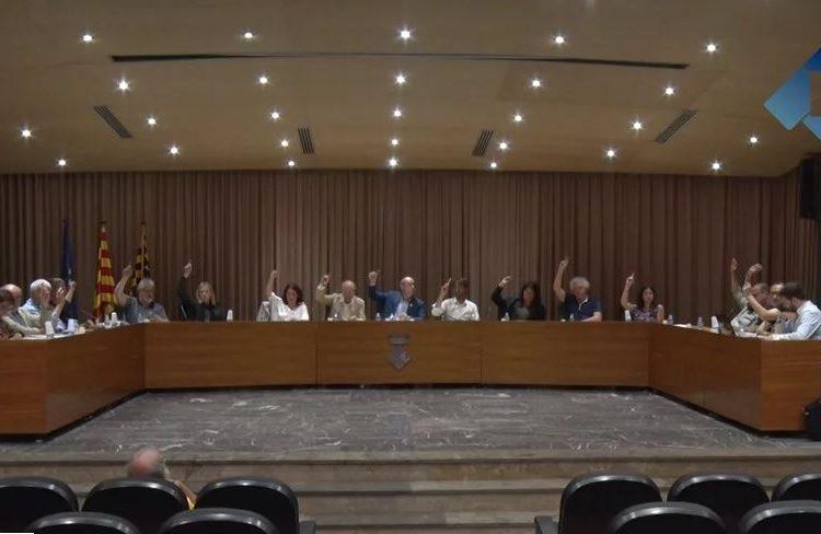 El ple de Balaguer aprova una moció en contra de la violència i la impunitat policial