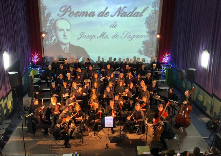 Penelles estrena el Poema de Nadal de Josep Ma de Sagarra musicat pel penellenc Vicenç Perera