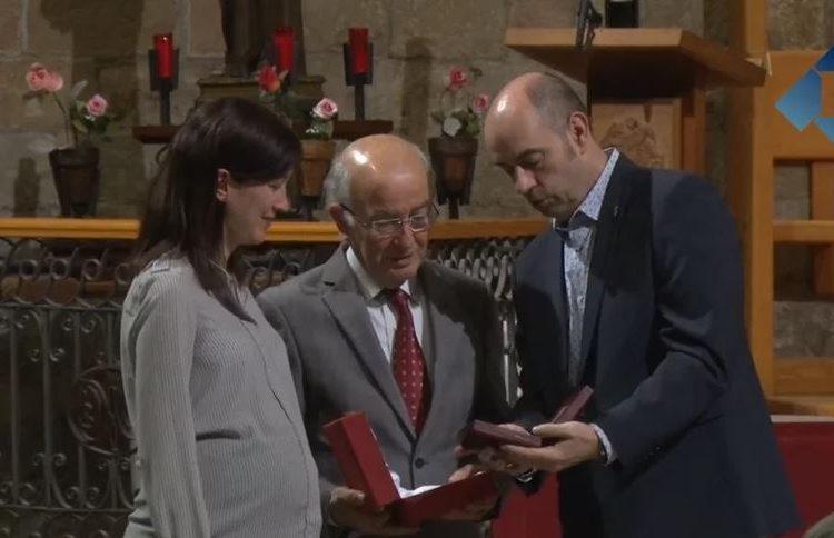 Lliurament 28è Premi Comte Jaume d'Urgell a Pagès Editors i Vicent Marzà