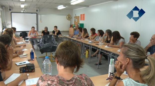 Els professors tornen als centres educatius per preparar el curs escolar 2018-2019
