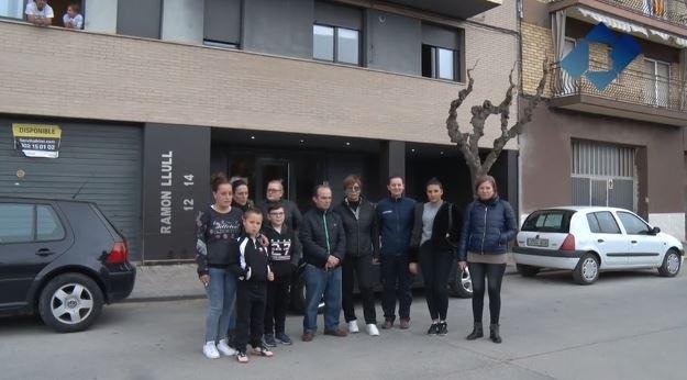 Aturats els desallotjaments del carrer Ramón Llull de Balaguer