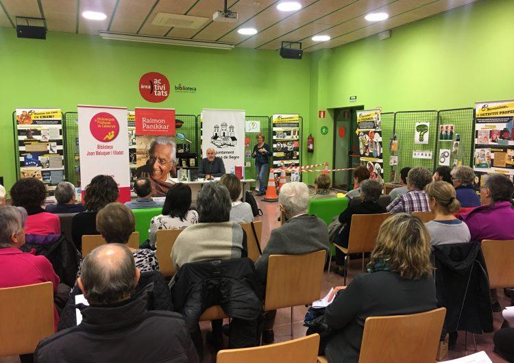 La Biblioteca Joan Maluquer i Viladot d'Artesa de Segre se suma als actes per commemorar l'any Raimon Panikkar