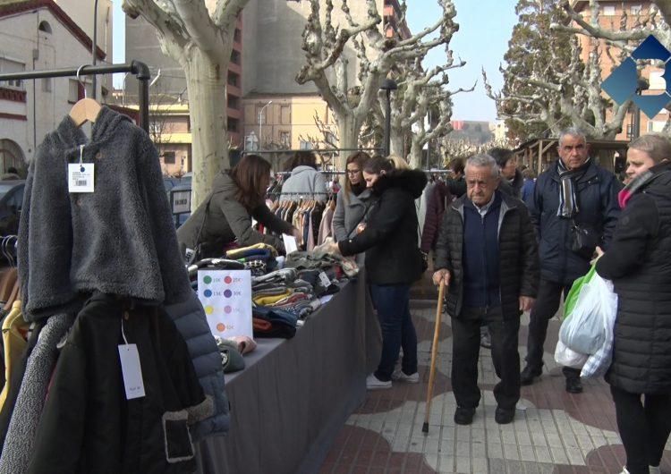 Balaguer celebra la 22a edició del Mercat de les Rebaixes
