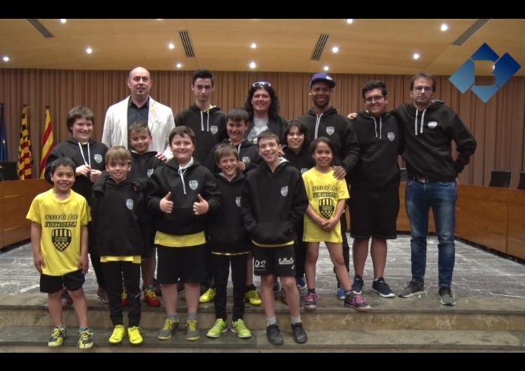 El benjamí A de l'EFS Comtat d'Urgell, campió de lliga en la seva categoria
