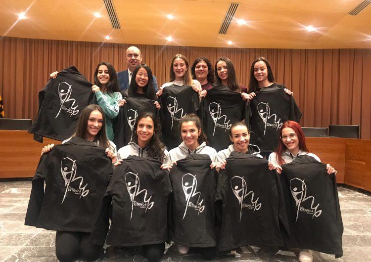 L'Ajuntament de Balaguer homenatja a les gimnastes del Club de Gimnàstica Rítmica de Balaguer