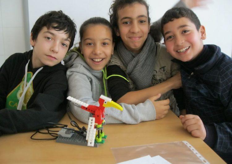 El Centre de recursos pedagògics de la Noguera posa en pràctica l'aula de robòtica 'Lego Wedo'