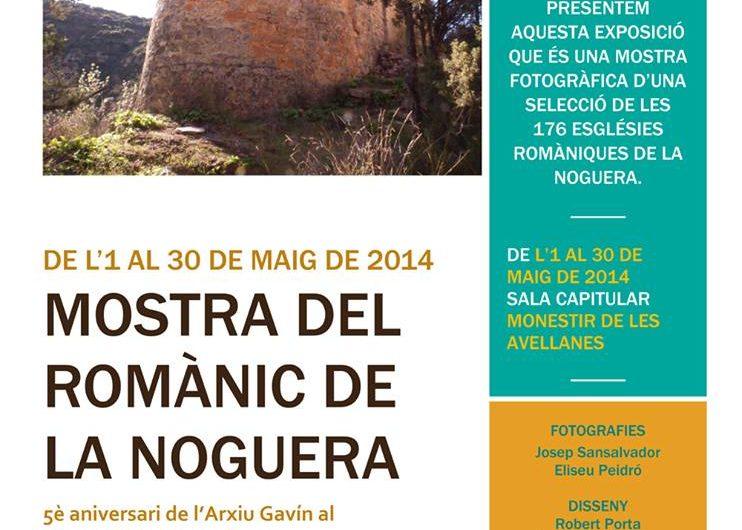 """""""Mostra del romànic de la Noguera"""" al Monestir de les Avellanes"""