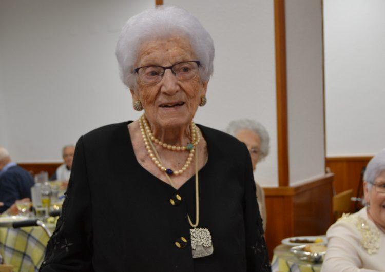 Celebració del centenari de Rosa Grangé