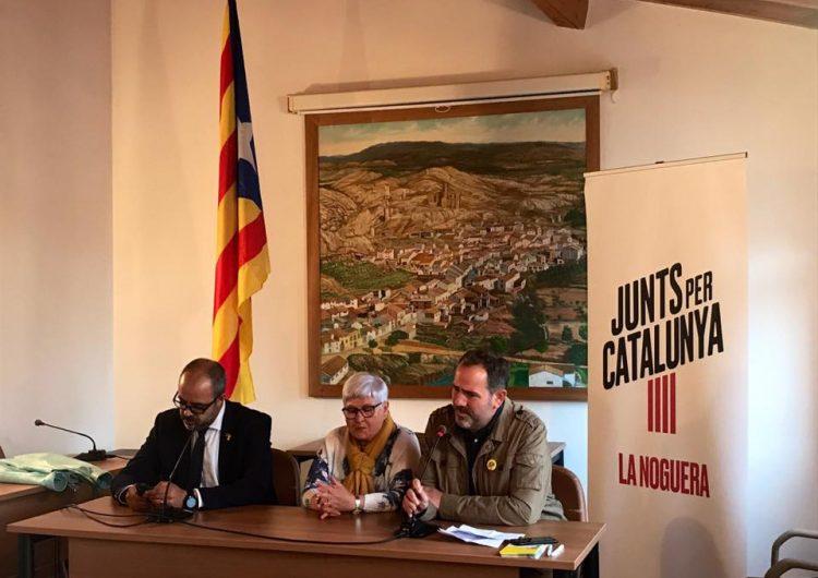 Presenten Rosa Maria Rúbies com a candidata de Junts per Catalunya a Castelló de Farfanya