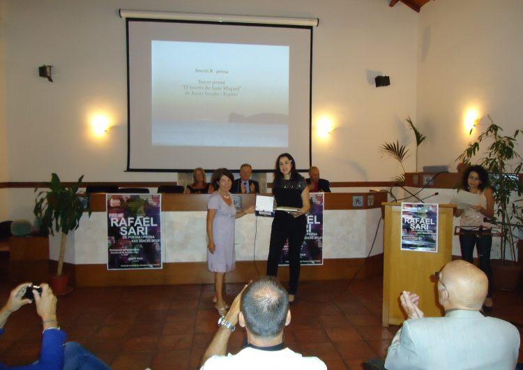 La balaguerina Roser Jurado guanya un premi literari a l'Alguer