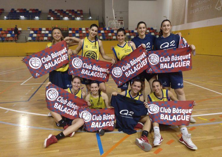 Victòria dels dos equips sènior del CB Balaguer