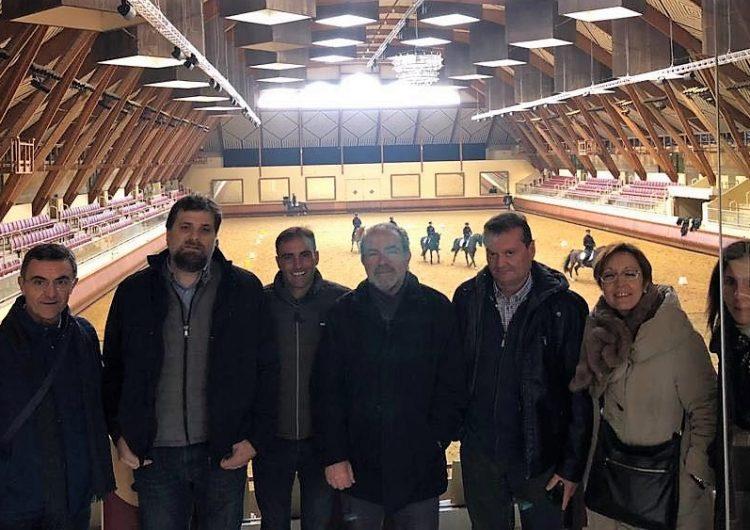 La Diputació vol impulsar la formació en equitació a Lleida després de la consecució dels estudis de Veterinària
