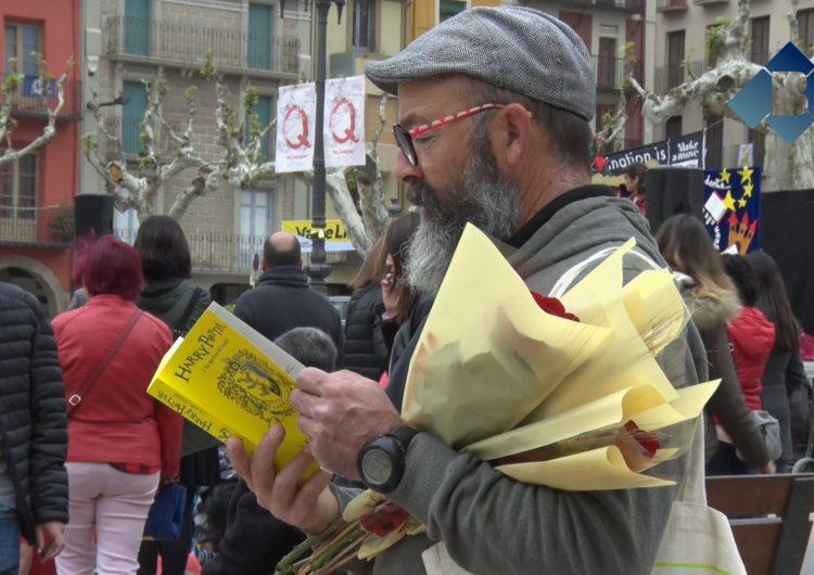 Balaguer celebra la Diada de Sant Jordi