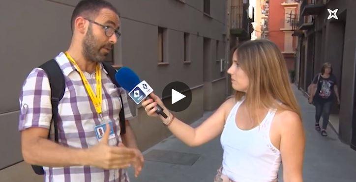 Horari d'Estiu: Balaguer, cruïlla del camí de Sant Jaume