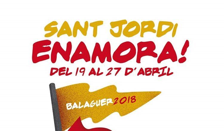 Balaguer prepara un ampli programa d'activitats culturals per Sant Jordi