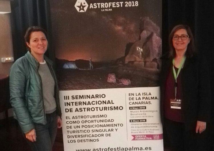 El Parc Astronòmic del Montsec participa al III Seminari Internacional d'Astroturisme a La Palma