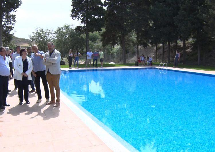 La Sentiu de Sió inaugura les obres de millora de la piscina