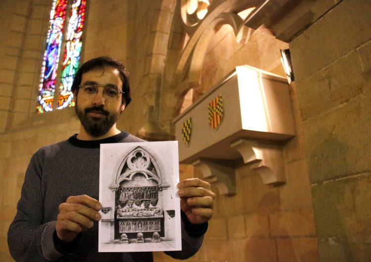 Finalitza la digitalització dels sepulcres dels Comtes d'Urgell i un dels quatre ja es reproduirà abans de final d'any