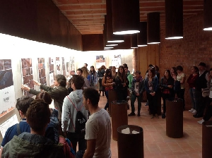L'escola d'art Ondara de Tàrrega visita l'Espai Transmissor de Seró