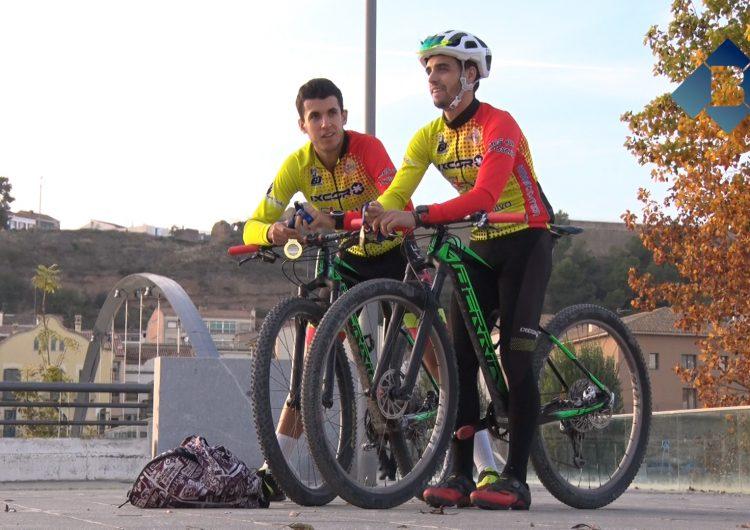 Aleix Sierra i Raul Barrios preparen la nova temporada com a campions d'Europa de duatló cross