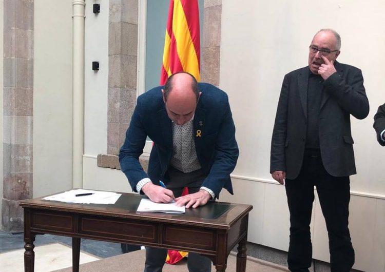 Balaguer signa el Pacte contra la segregació escolar impulsat pel Síndic de Greuges