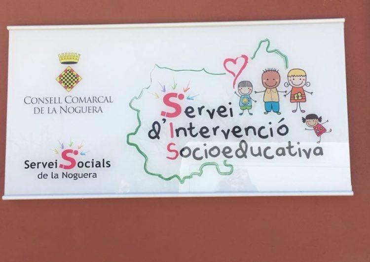 El Servei d'Intervenció Socioeducativa del Consell Comarcal de la Noguera ha atès 45 infants i adolescents i les seves famílies