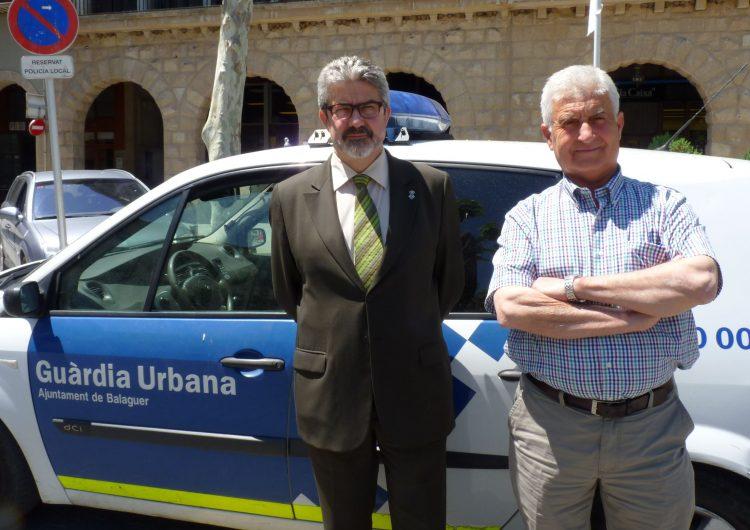 La Guàrdia Urbana de Balaguer comença a utilitzar els dispositius TETRA que els permet entrar a la Xarxa RESCAT i coordinar-se amb els altres Cossos de Seguretat